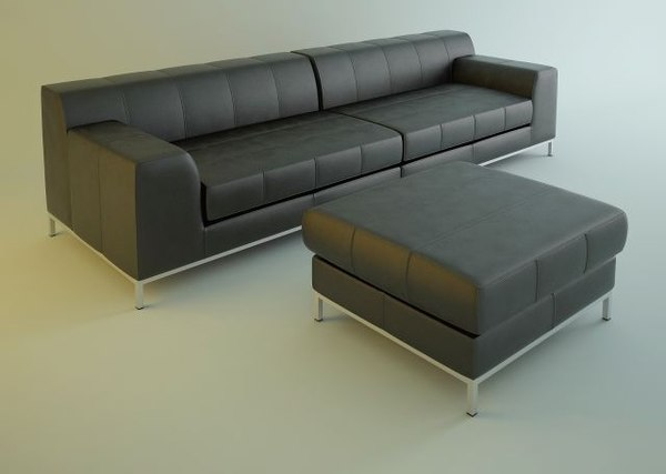 sofa kramfors ikea 3D