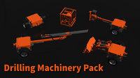 drilling machinery pack 3D