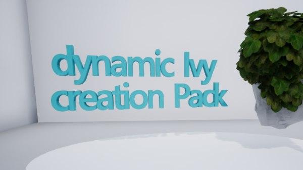 3D model ivy dynamic
