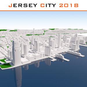 jersey city 3D model