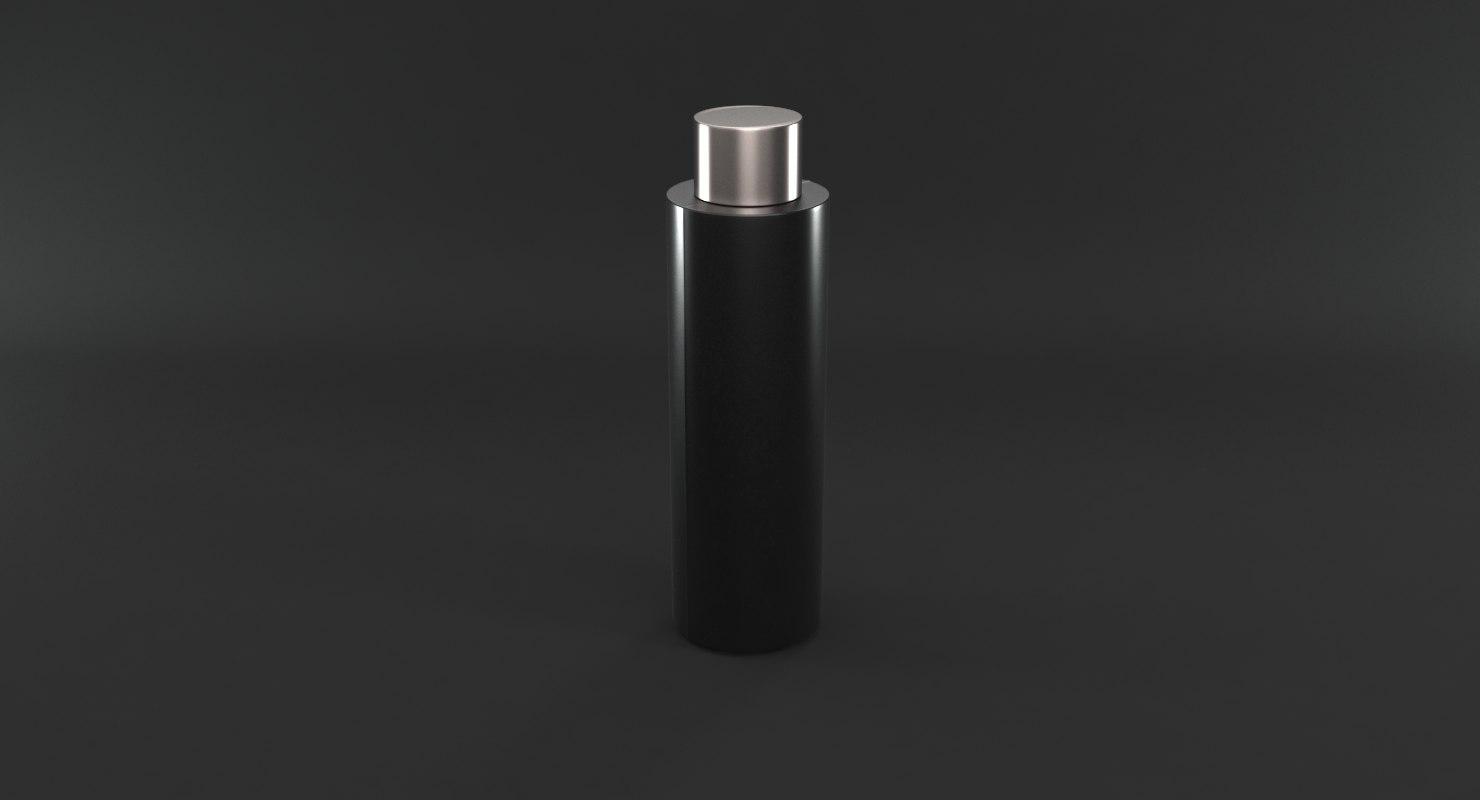 cosmetic bottle 3D model