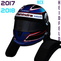 3D heidfeld helmet e