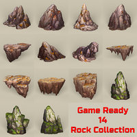 Game Ready Stone Rocks Collection