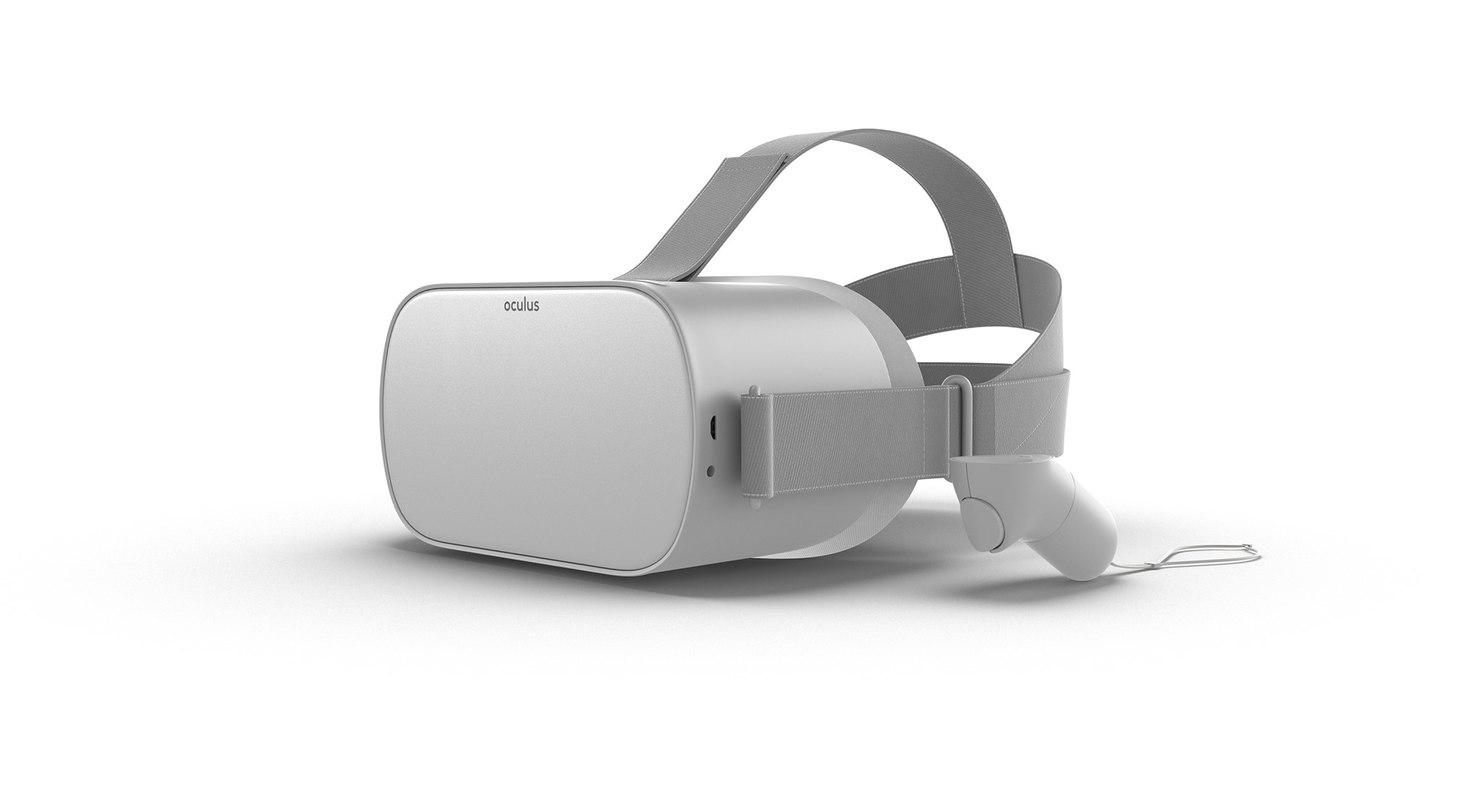 3D model oculus modeled