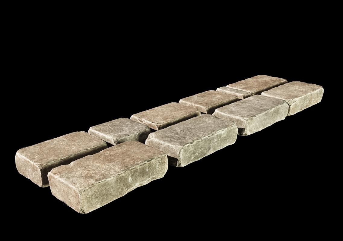 stones realistic 3D model