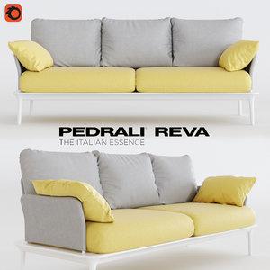 reva sofa 3D