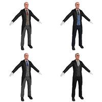 3D model pack butler