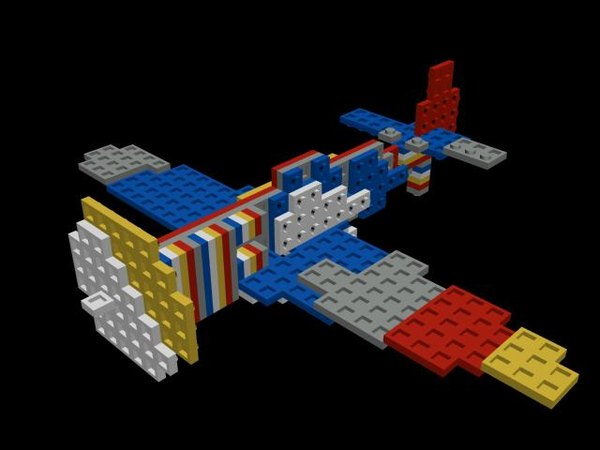 3D aviao