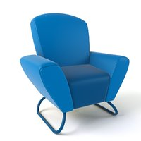 3D cartoon armchair 18