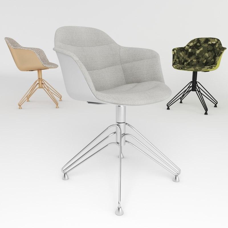 3D bontempi mood revolving armchair