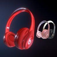 beats headphones 3D model