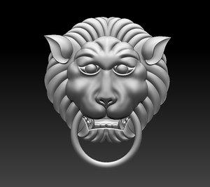 3D model knock knocker