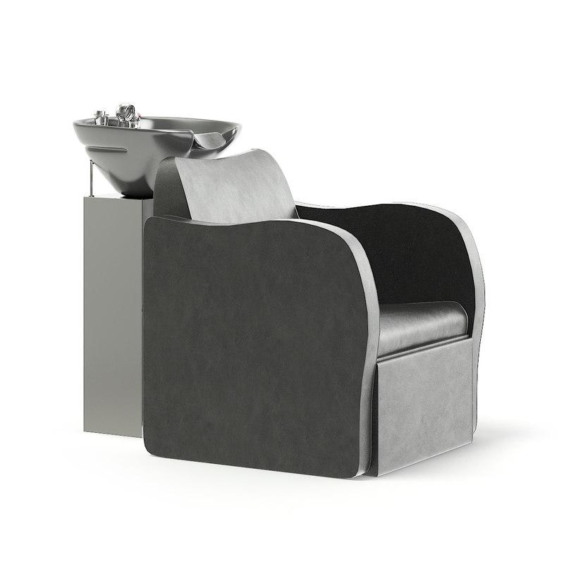 armchair backwash 3D