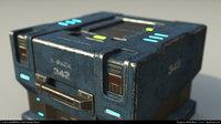 sci-fi case 3D model