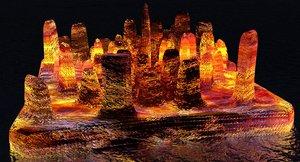 island lava 3D