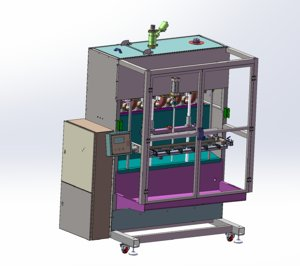 3D filling machine