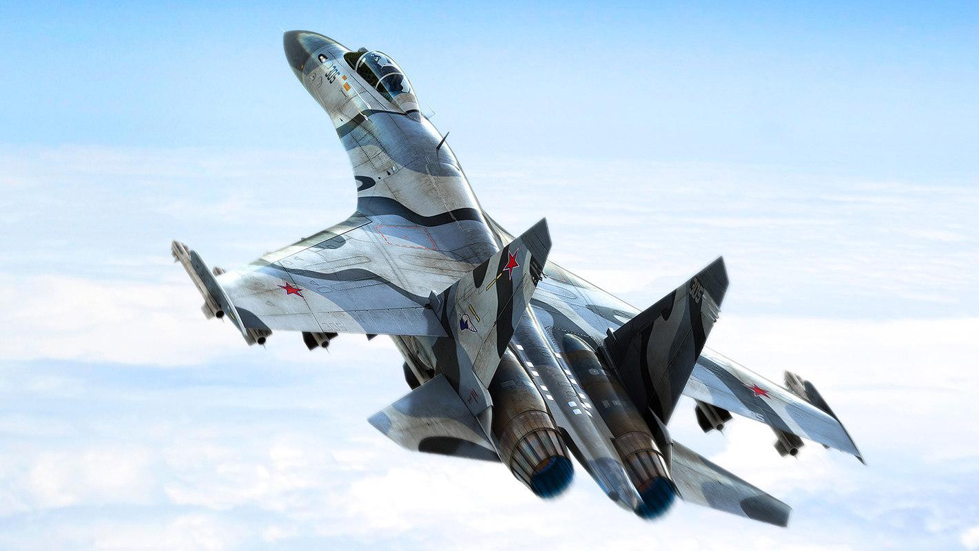 sukhoi su-27 3D model
