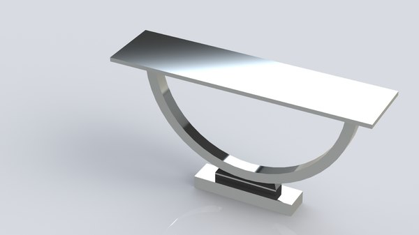 3D model entrance table