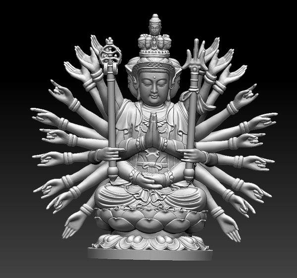 buddha bodhisattva model