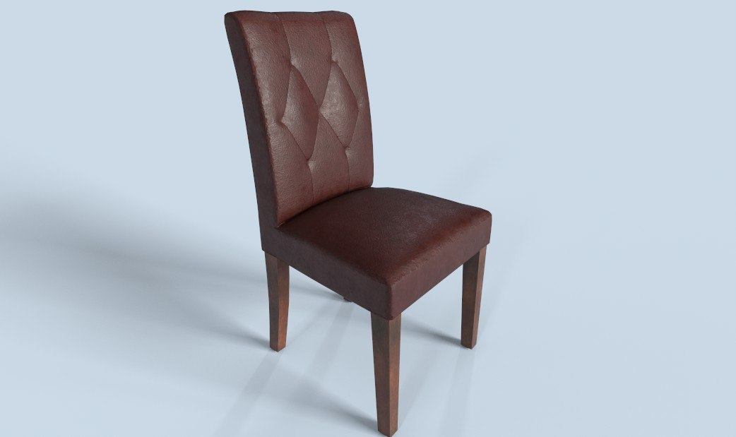 pbr chair furniture 3D model