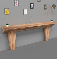 Wall Mounted Bar Table