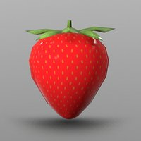 strawberry ready games 3D model