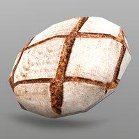 3D sourdough bread
