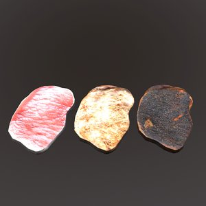 3D pork chop