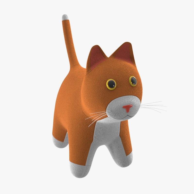 toy cat 3D