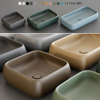 3D shui washbasin
