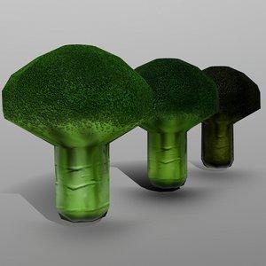 3D model broccoli ready games