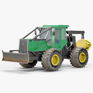 grapple skidder 3D model