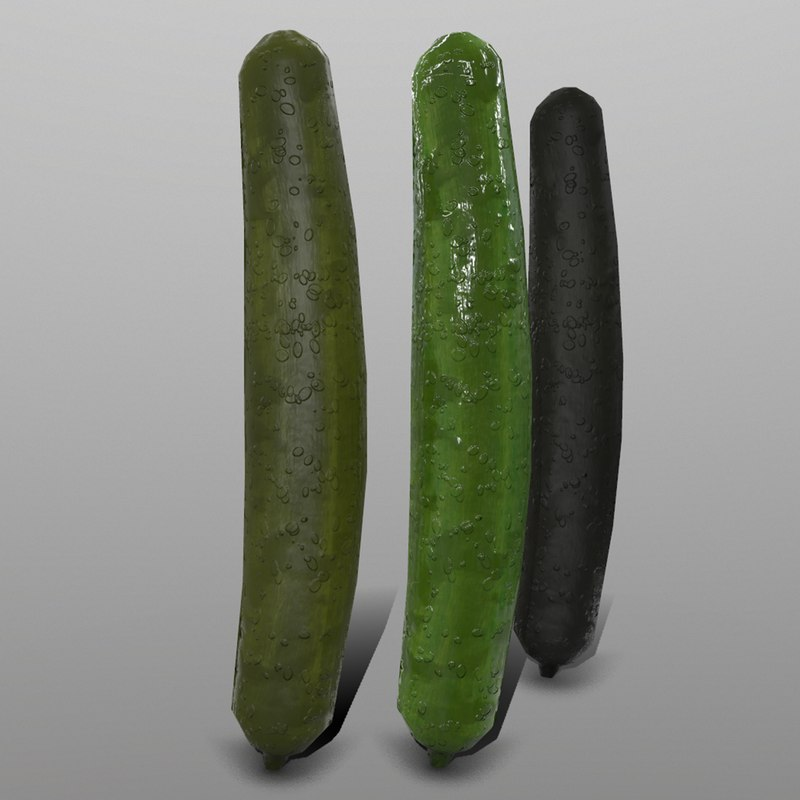 cucumber ready games 3D model