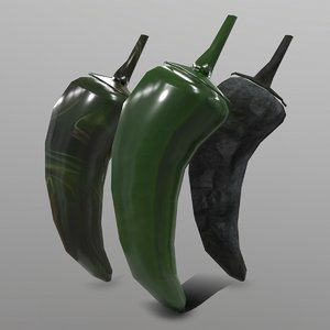 jalapeno ready games 3D model