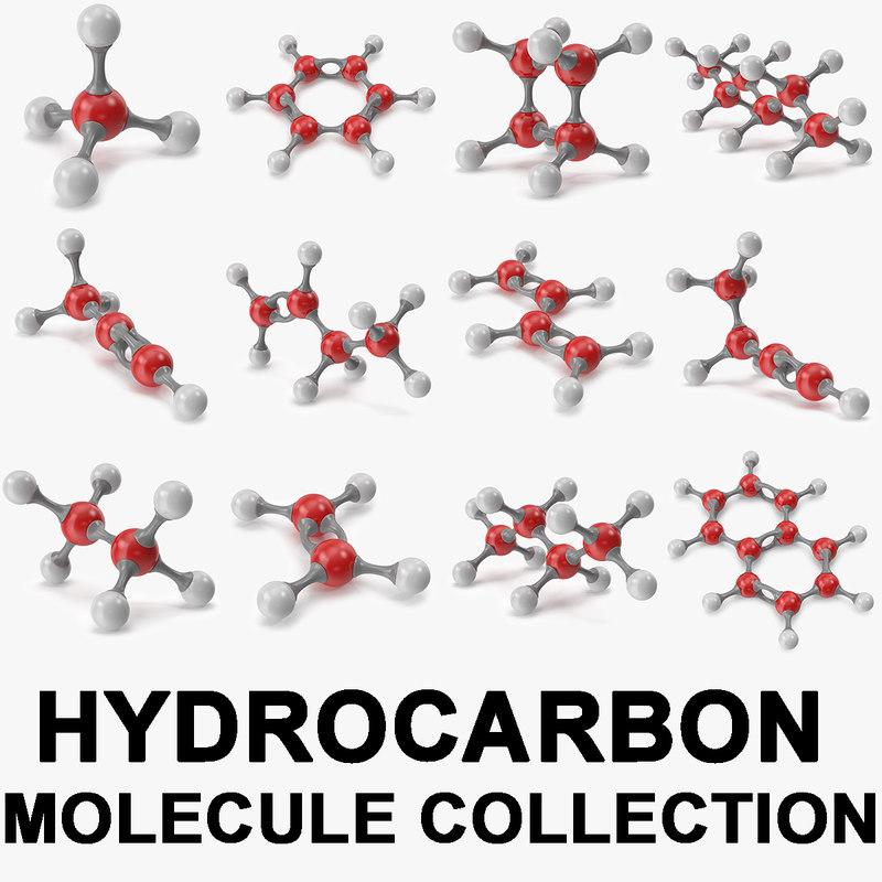 modeled molecular 3D model