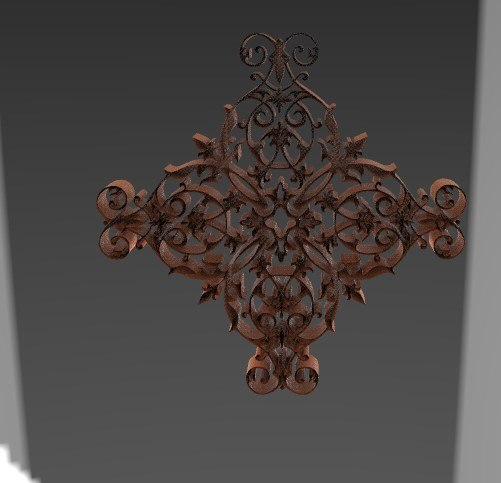 3D architectural decor