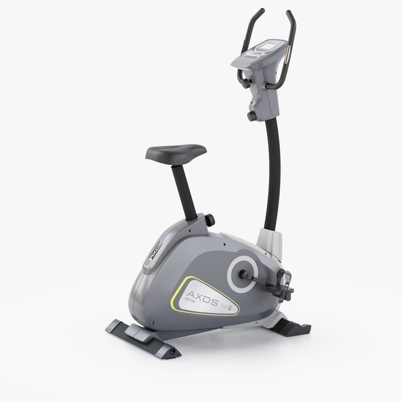 exercise bike kettler axos 3D