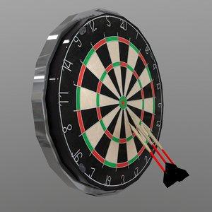3D dart set