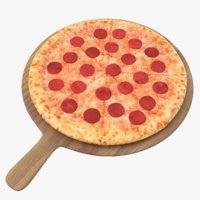 Pizza 02 3D Model
