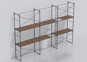 set scaffold model