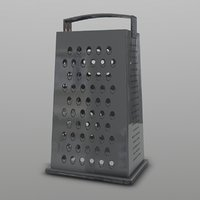 3D cheese grater