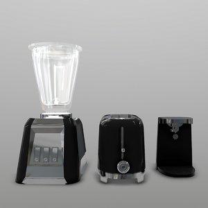 3D cooking appliances model