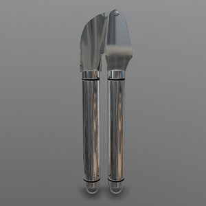garlic press 3D model