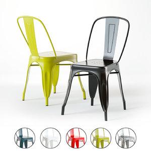 pottery barn durango chair 3D model