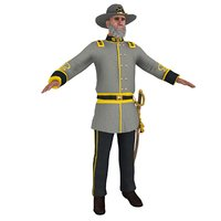 civil war officer model