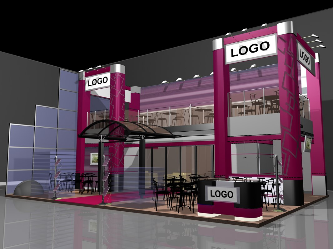 3D realit exhibition stand