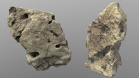 rock holy limestone 3D model