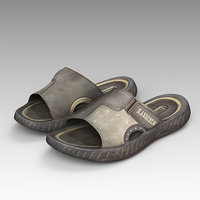 sandals shoes fashion 3D model