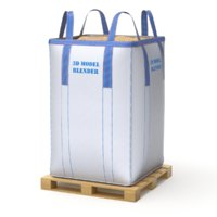 Bulk Bag on Wooden Pallet