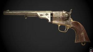 3D colt 1851
